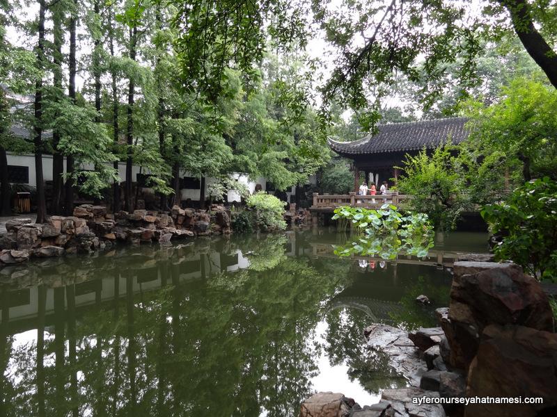 Sakinleştici, huzur dolu Yuan Bahçesi...