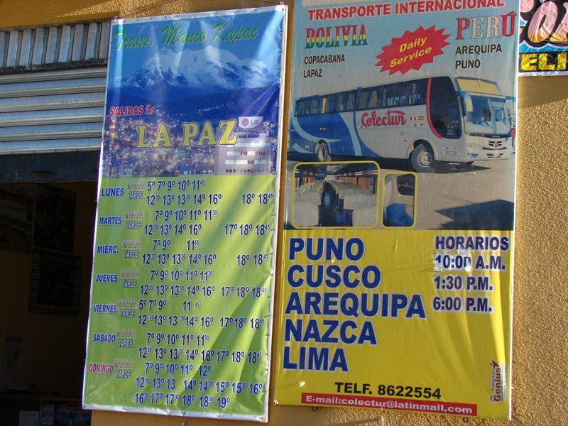Otobüs seferleri ve ücretleri