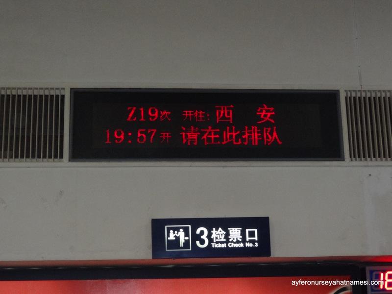 Batı Tren İstasyonu - Çin'de Tren Yolculuğu