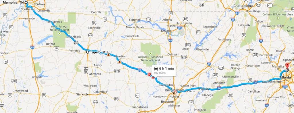 Memphis-Atlanta