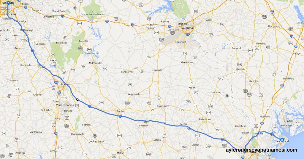Atlanta-HiltonHead Island Yol