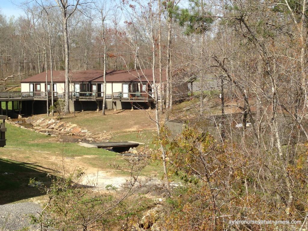 DeSoto State Park motel bölümü - Alabama State Parks