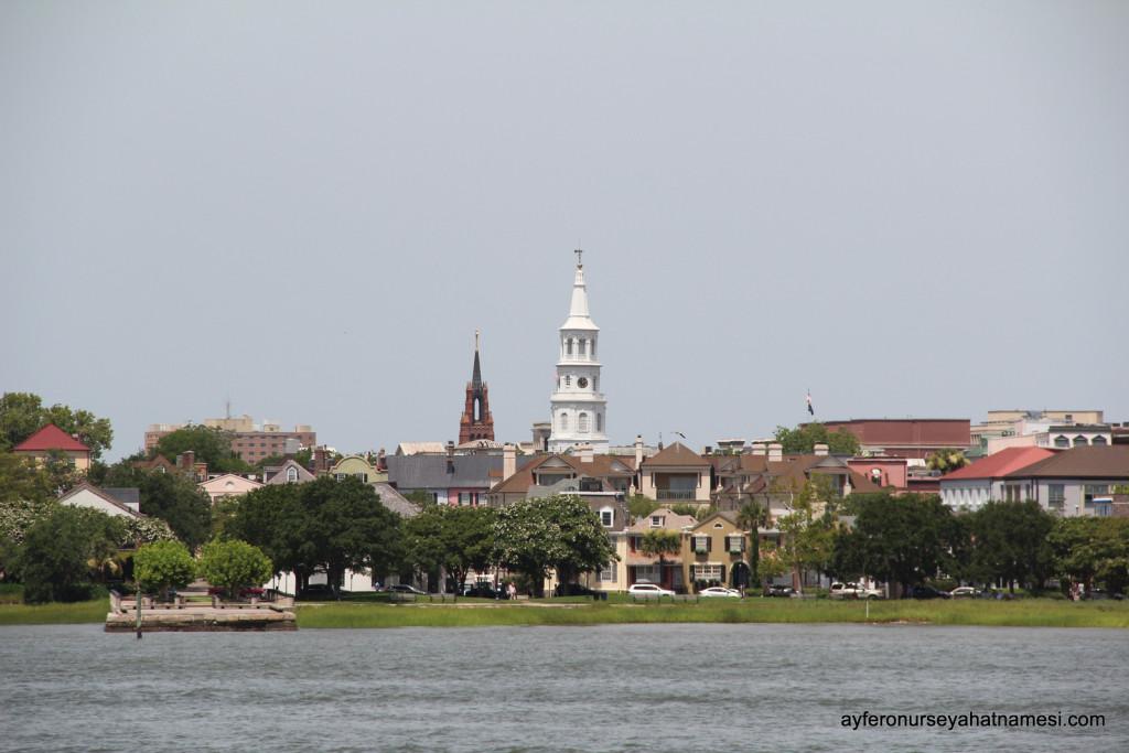 Charleston şehrine genel bakış...