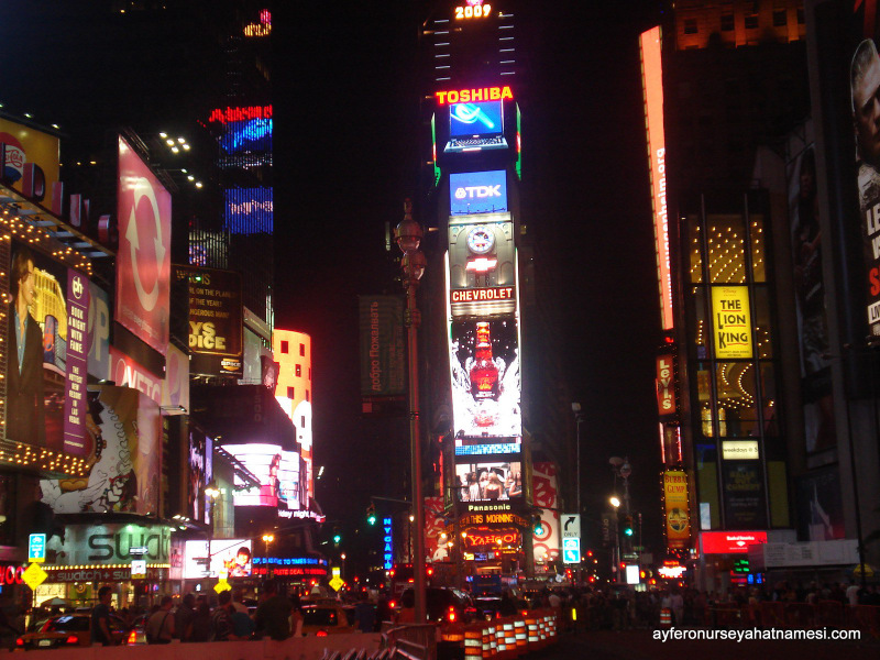 Times Square gecesinden...