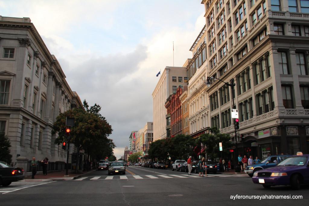 Washington DC sokaklarından