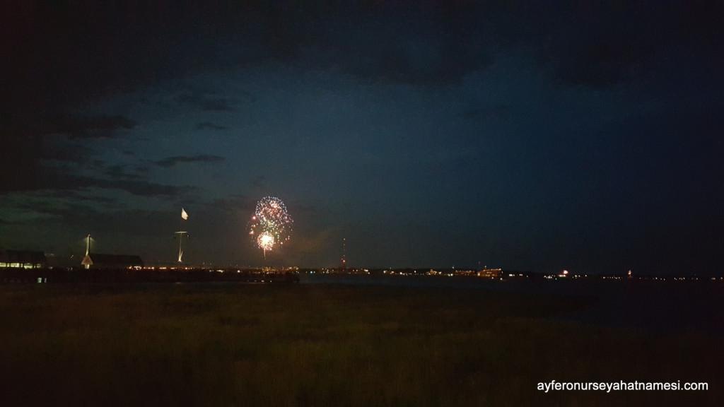 4 Temmuz ABD'nin kuruluş günü kutlamalarından - Charleston, SC