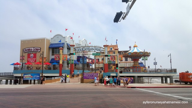 The Galveston Historic Pleasure Pier