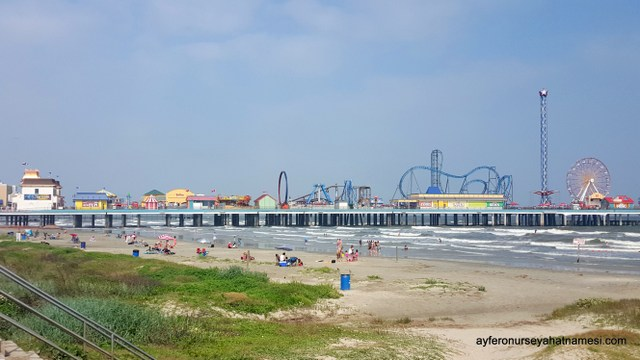 The Galveston Historic Pleasure Pier, Teksas