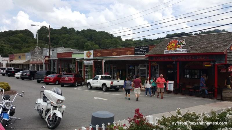 Lynchburg Kasabası - Tennessee