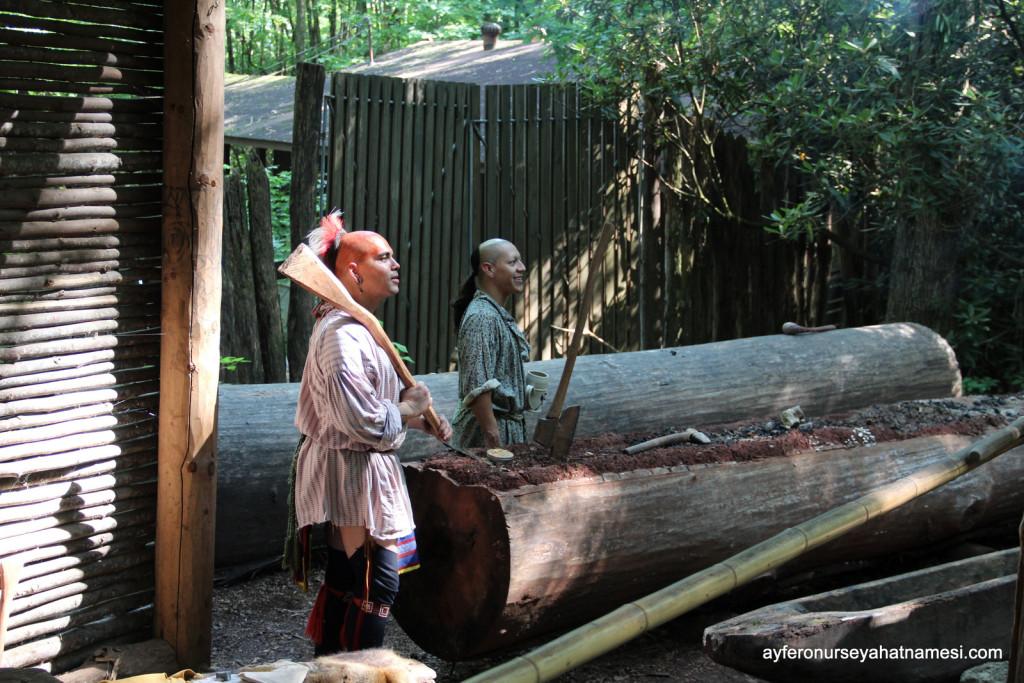 Oconaluftee Kızılderili Köyü