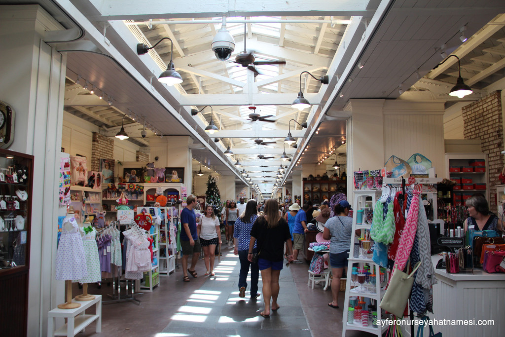 Charleston City Market (Şehir Pazarı)
