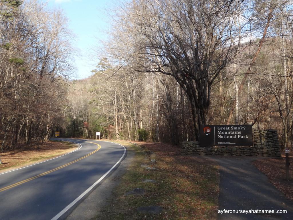 Great Smoky Mountain Milli Parkından...