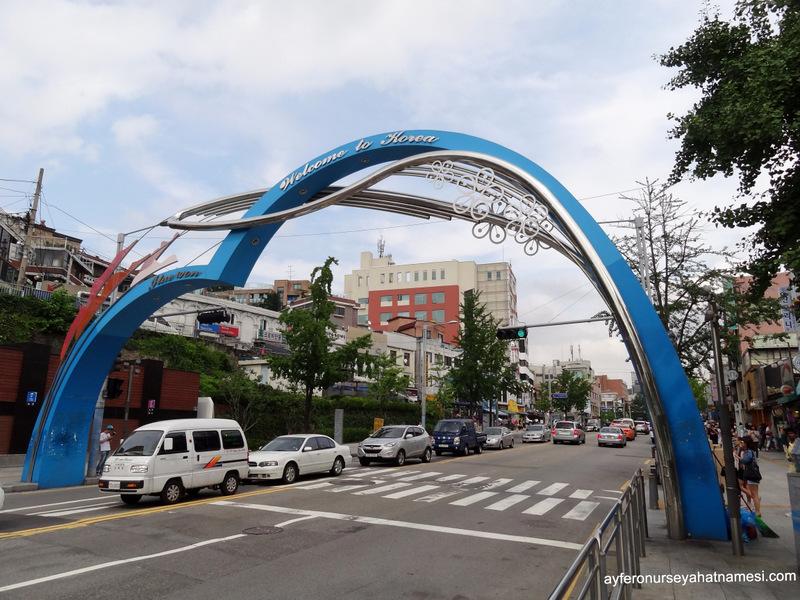 Itaewon Bölgesinden - Seul, Güney Kore