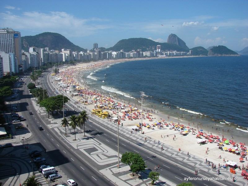 Kaldığımız Guest House'dan Manzaramız - Rio de Janeiro