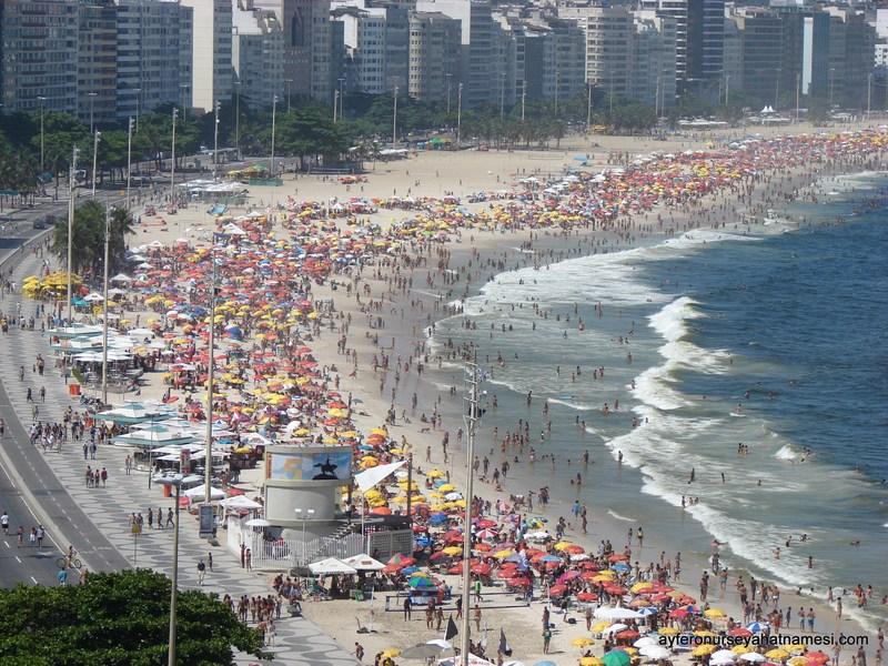 Copacabana Plajı - Rio de Janeiro
