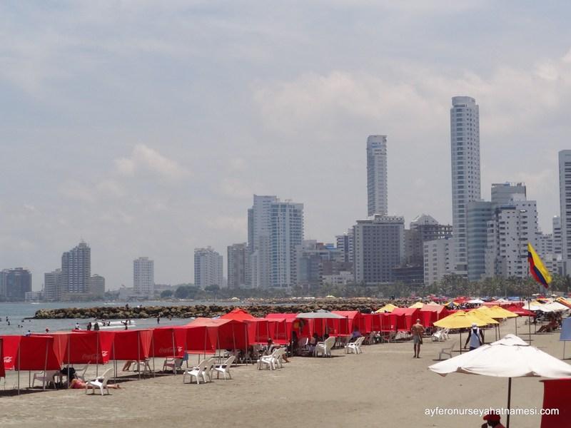 Bocagrande plajı