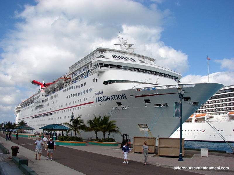 Fascination - Carnival (Bahamalar Cruise Turu)