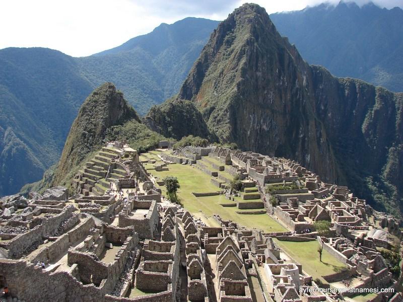 Unesco Dünya Mirası ve Dünyanın Yedi Harikasından biri: Machu Picchu