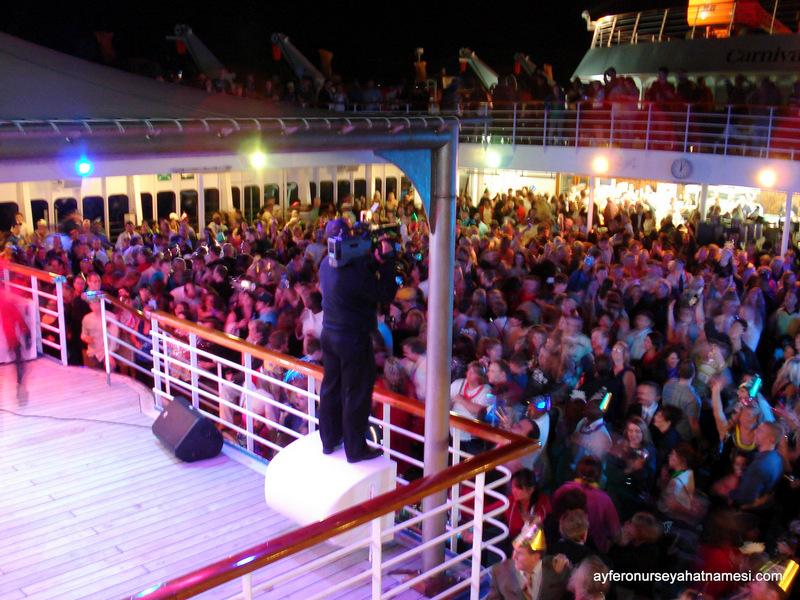 Yeni Yıl Partisi - Fascination - Carnival Cruise Turu