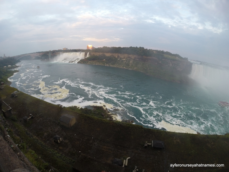 Niagara Şelaleleri - Çekim GoPro ile