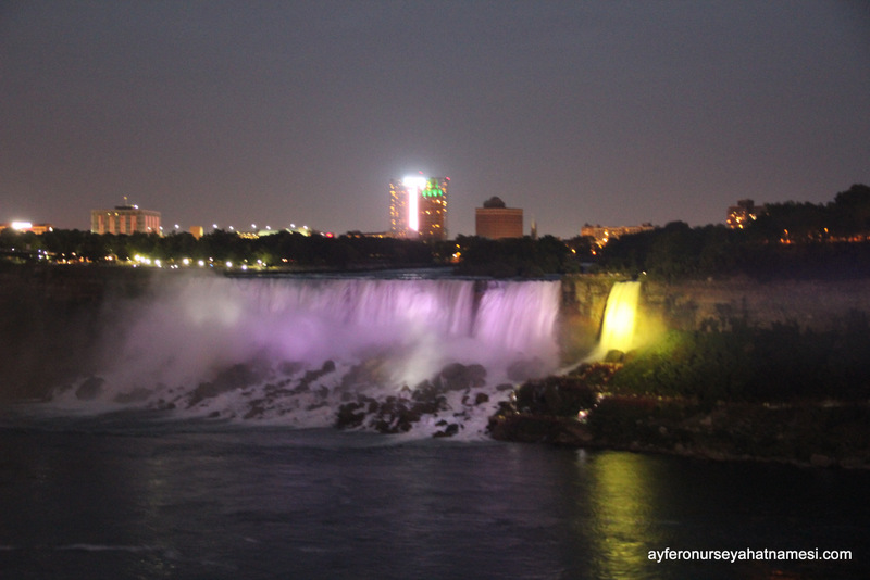 Falls illumination