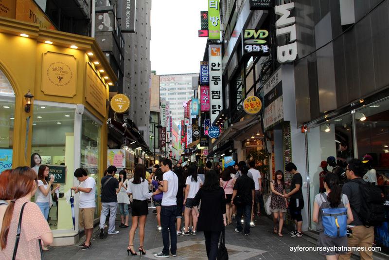 Myeong-dong Bölgesi - Seul, Güney Kore