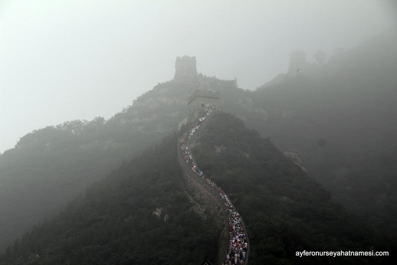 Pusların arasında Çin Seddi - Pekin