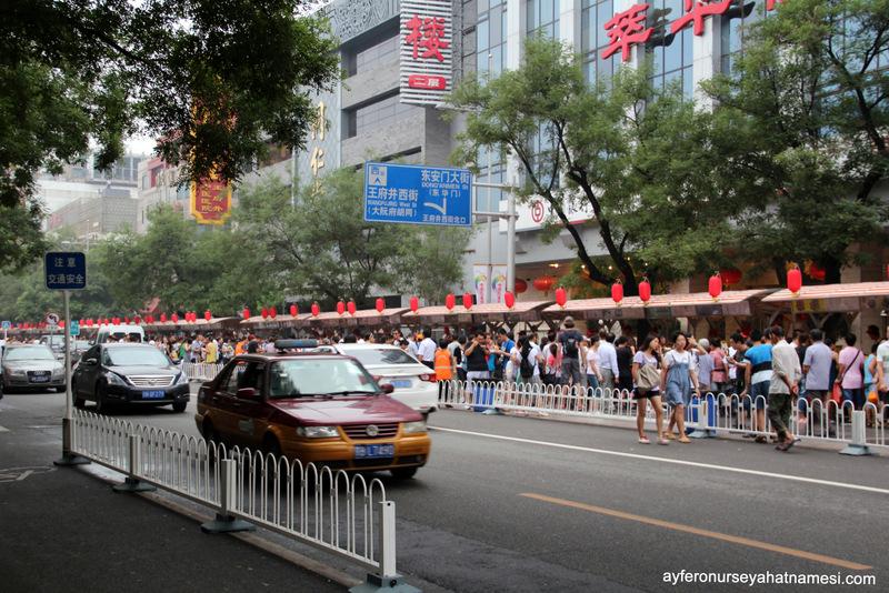 Donghuamen Gece Marketi - Pekin