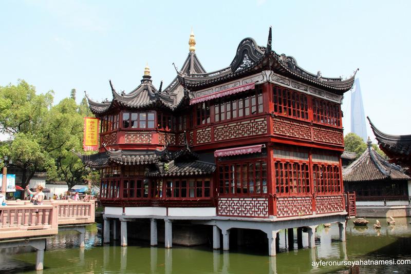 Yuyuan Garden ve Bazaar - Şangay