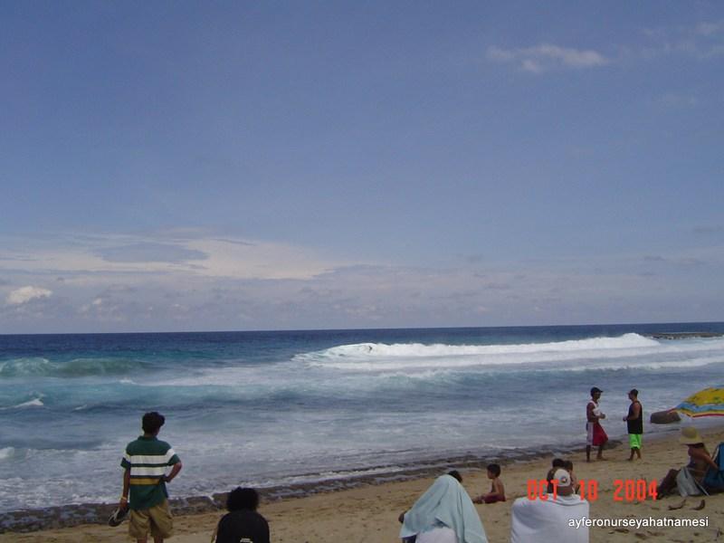 Rincon sahillerinden...