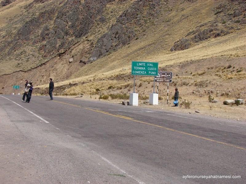 Cusco - Puno Arası Yollardan