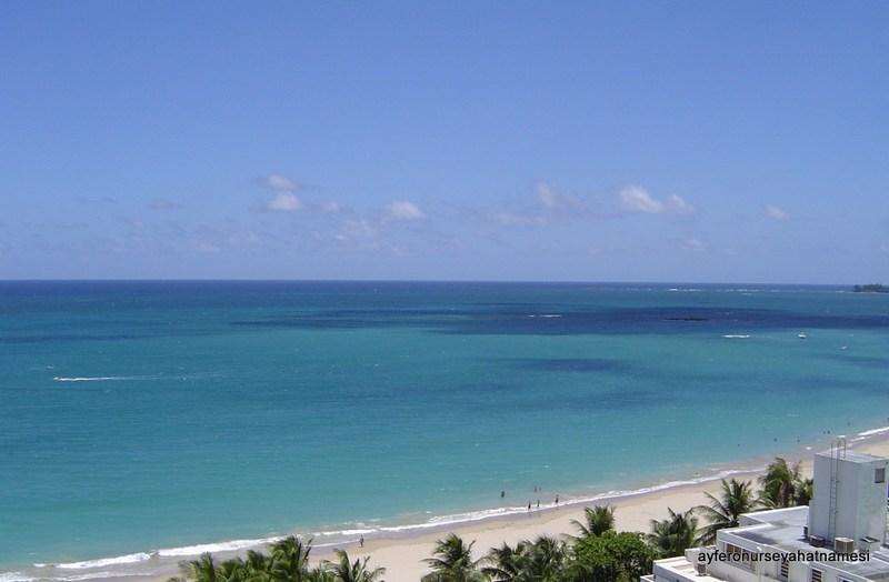 Isla Verde - Her gün bu manzara ile güne başlamak paha biçilmezdi.
