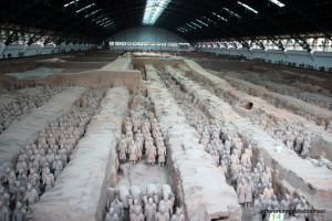 Terracotta Askerleri - Xian, Çin