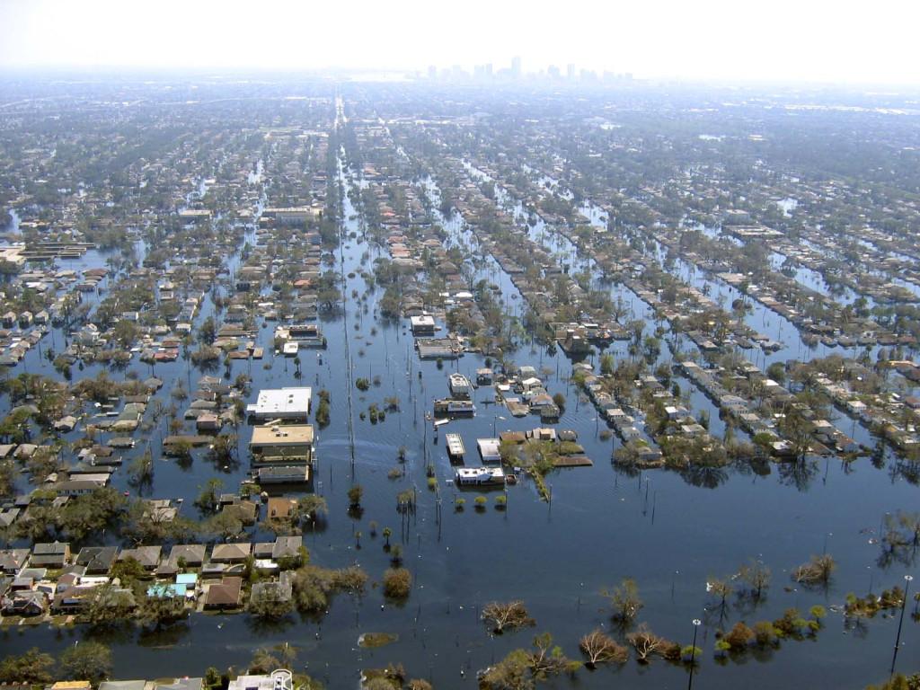 Katrina kasırgasının sular altında bıraktığı New Orleans :( (Fotoğraf alıntıdır...)
