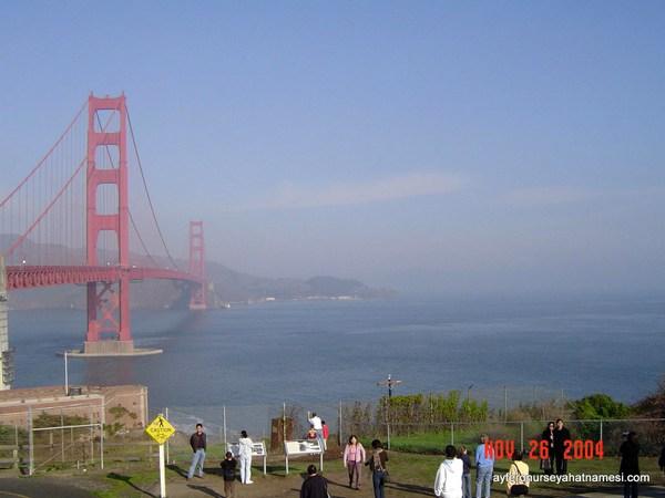 Golden Gate Köprüsü - San Francisco