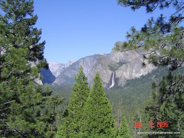 Bridalveil Fall - Yosemite Ulusal Park
