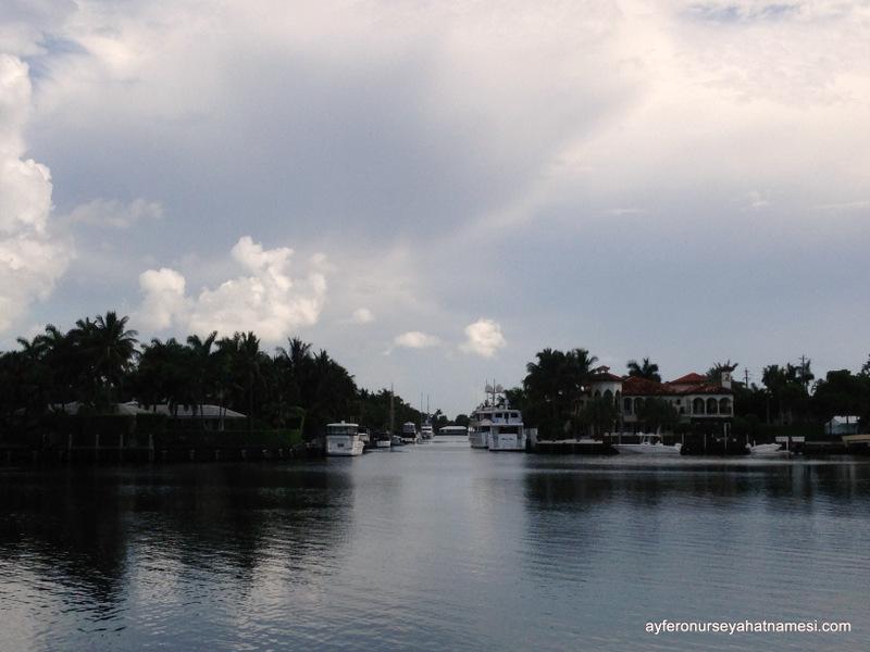 Kanallar şehri, Fort Lauderdale...