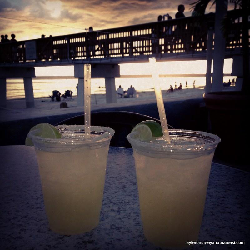 Gün Batımı, Margarita ve Fort Myers Plajı