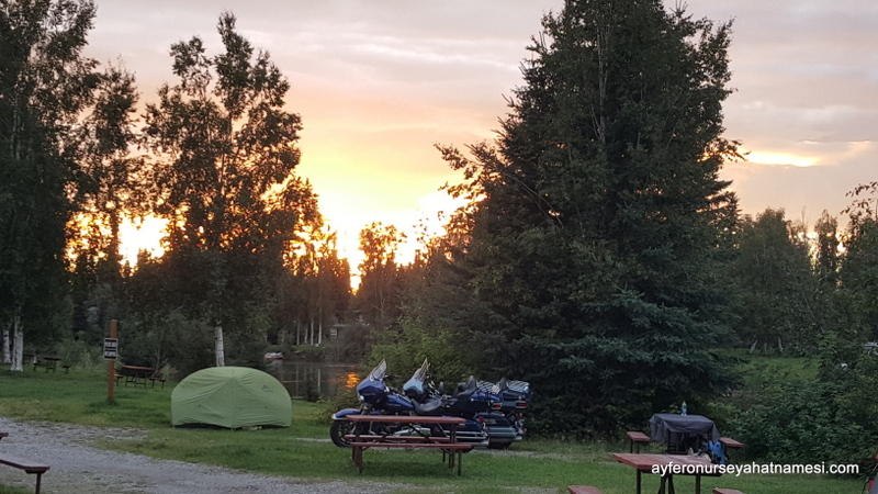 Rivers Edge Campground, Fairbanks