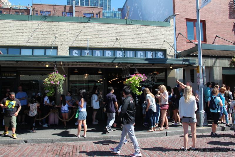 First Starbucks Store