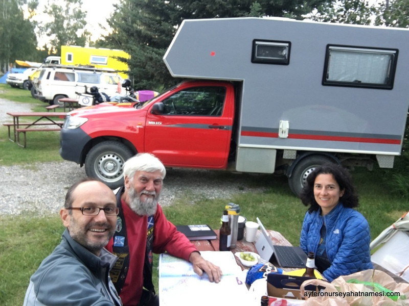 Robert and us at Fairbanks-Alaska