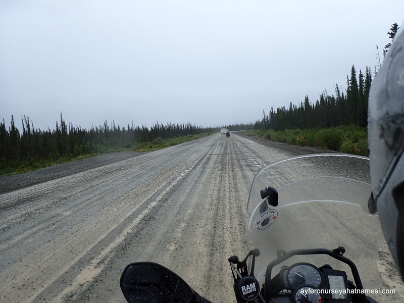 Road Constructions never ends in Alaska