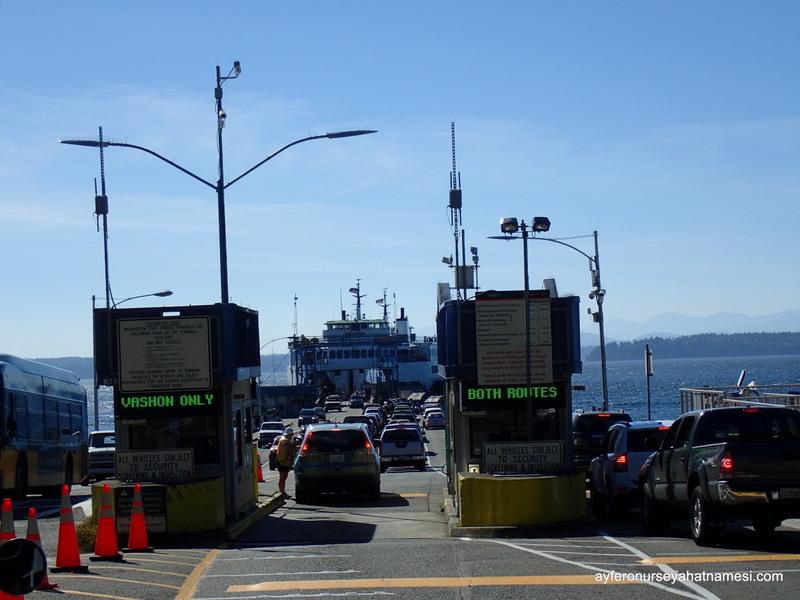 Southworth Ferry, Seattle