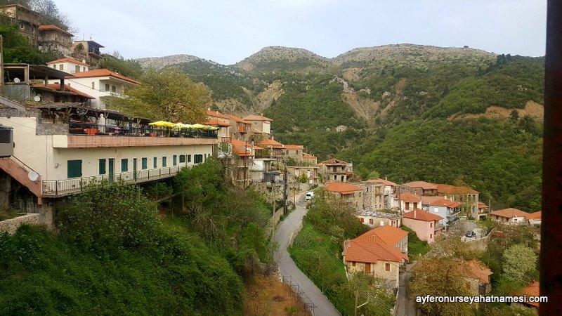 Lagkadia - Mora Yarımadası Dağ Köyleri