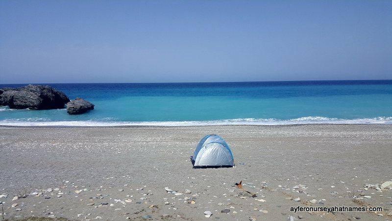 Hiliadou Plajı - Evia Adası