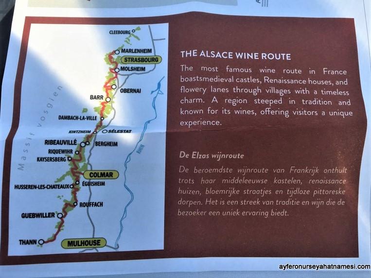 Alsace Şarap Yolu