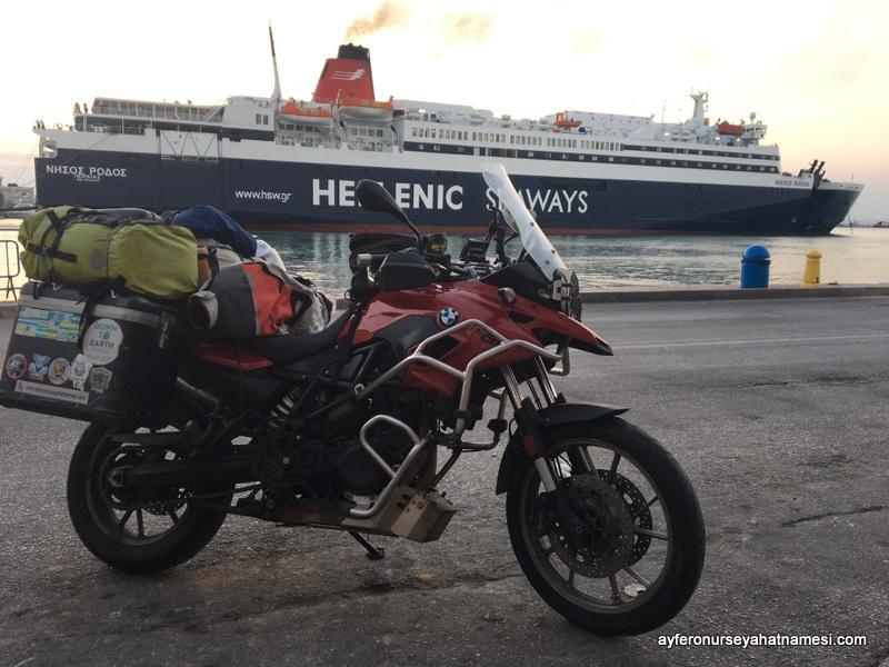 Hellenic Seaways - Yunanistan Türkiye Araçla Feribot Geçişi
