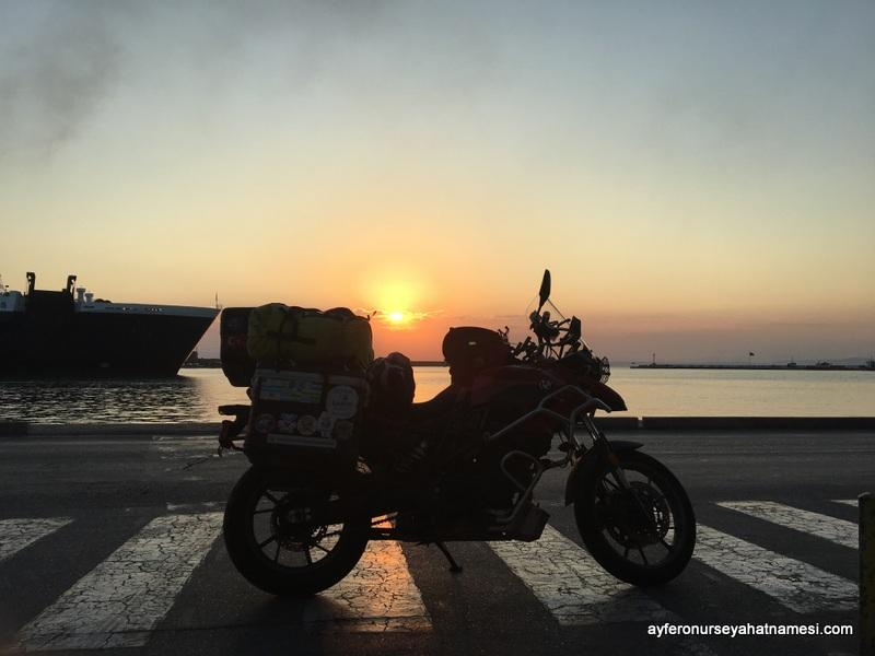 Sakız Adası liman